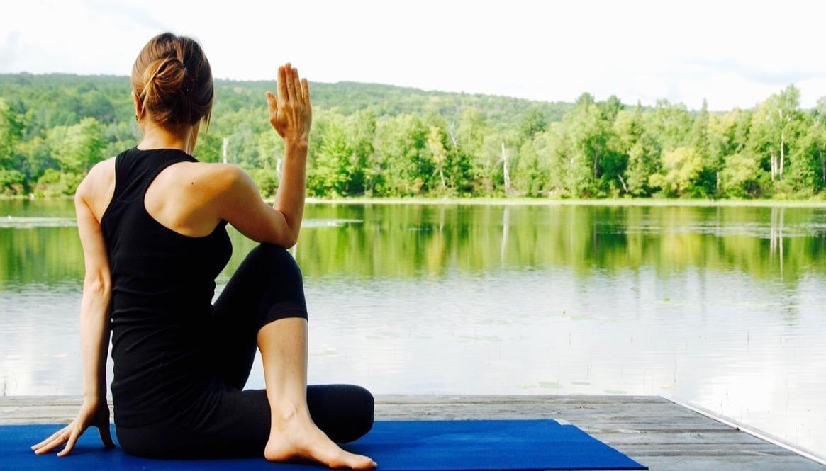 Yoga--Pose