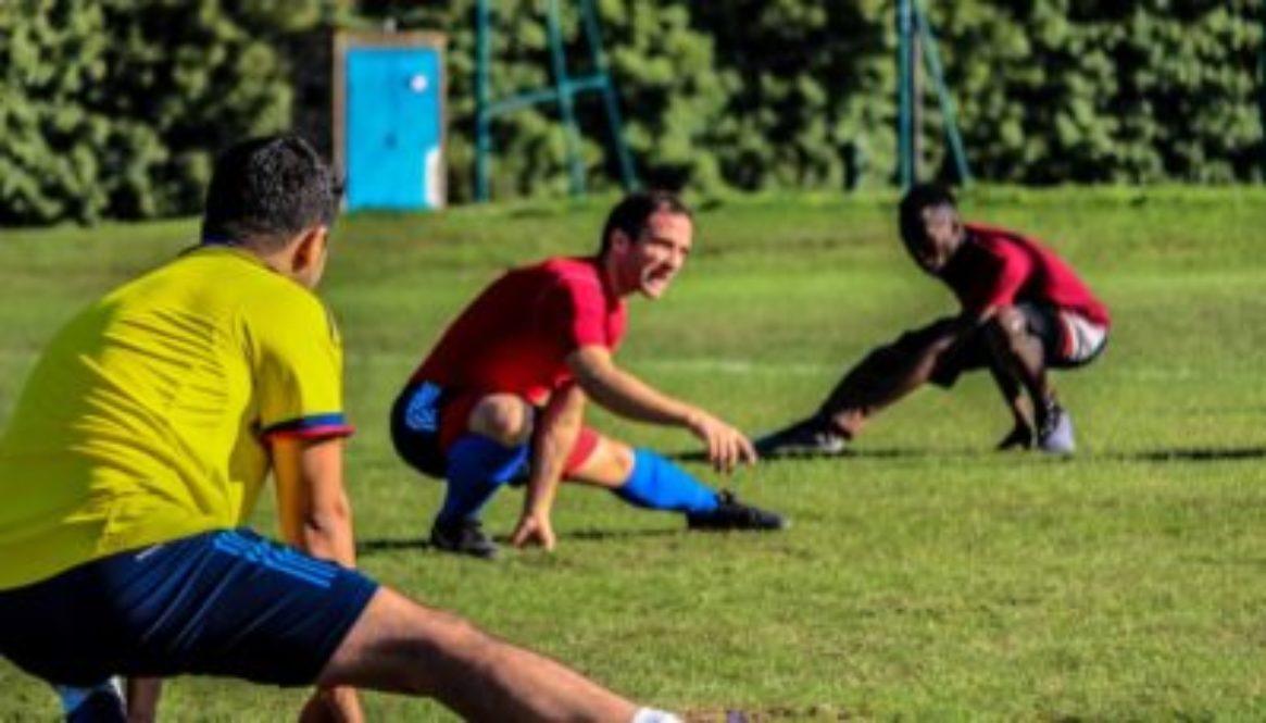 Men-soccer-execise