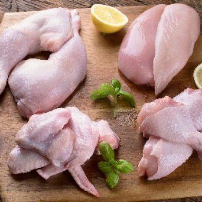 Cut-chicken